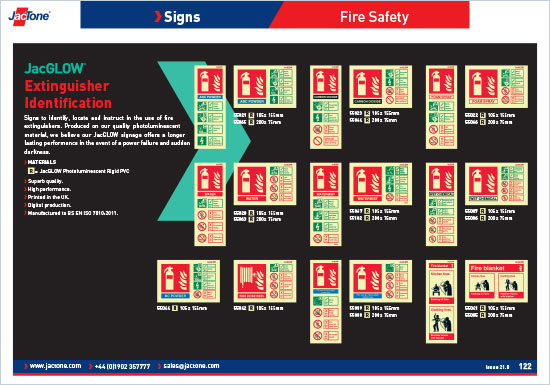 Fire Safety Equipment Catalogue Safety and Information Signs